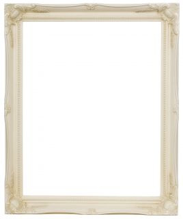 Swept Antique Effect Wood Frames 2 Empty or Plastic Glass Backing