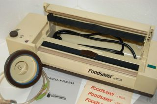 Tilia Vacuum Food Saver/Sealer Foodsaver with Bag Rolls