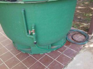 Fiberglass Koi Pond Fish Tank with Filter Pump Stand Phoenix AZ