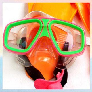 Kids Children Mask/Snorkel /Fins Flippers Swimming Swim Diving Dive