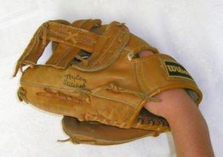 Vintage JIM RICE Wilson Model A2252 Baseball Glove LHT Boston Red Sox