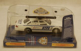 Code 3 12441 NYPD Police Car Ford Crown Victoria Premier Chiefs