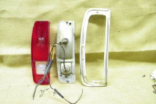 oem 1967 1972 FORD TAILLIGHT HOUSING pickup truck bronco econoline van