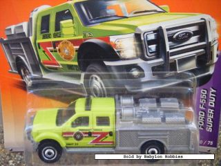 mattel matchbox ford f 550 super duty t9378