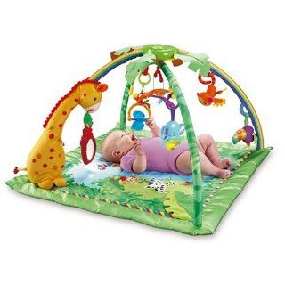 Fisher Price Rainforest Melodies & Lights Deluxe Gym Activity Center