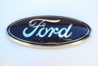 FORD F150 OVAL EMBLEM BADGE DECAL TAILGATE REAR 2008 2012 OEM NEW