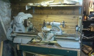 1940s Craftsman Metal Lathe Model 101 07403 w 31 Gears