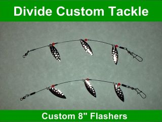 Trolling Pop Gear Flasher 8 HS Trout Walleye Bass Fishing Tackle Baits