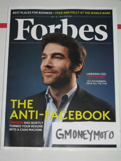 Forbes Magazine July 16 2012 Linkedin CEO Jeff Weiner The Anti