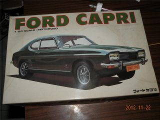 Bandai 1 20 Ford Capri Motorized Sport Car