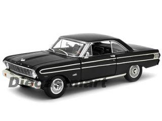 Signature 1 18 1964 Ford Falcon New Diecast Model Car Black