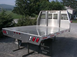 Aluminum DRW Pickup Flat Bed Dodge Ford Chevy GMC