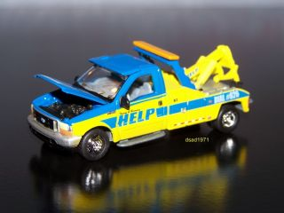 1999 Ford F 450 Super Duty Tow Truck Wrecker Mint 1 64 Scale