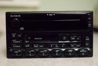 FORD F150 EXPLORER OEM FACTORY RADIO CD CASSETTE PLAYER