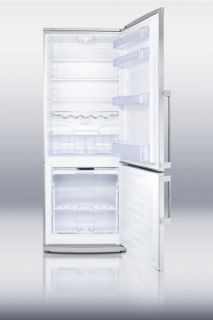 energy star qualified the ffbf285ss is the ideal refrigerator freezer