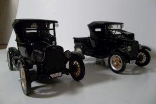 Pair 1925 Fords Model T Car Truck National Motor Museum