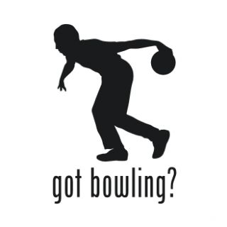 Got Bowling Ball Bowl Pin Vinyl Graphic Decal Sticker