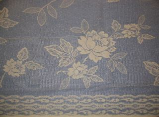 FLORAL CHIC 72 SHEERS DOOR PANELS CURTAINS TIE FRENCH COUNTRY COTTAGE