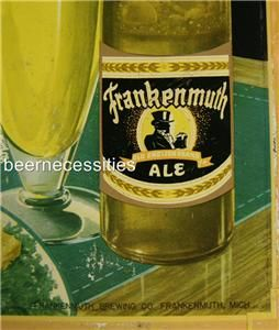 Frankenmuth Old English Ale TOC Beer Brewing Sign Michigan MI Mich