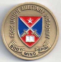 Fort Union Military Academy Virginia Enameled Medal L K