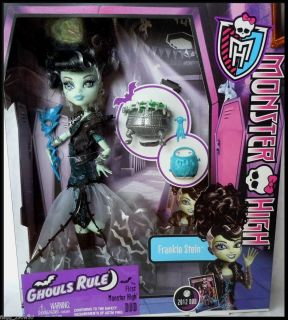 Monster High GHOULS RULE FRANKIE STIEN DOLL
