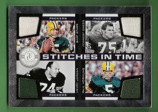 Hornung 87 150 Game Used Jersey Forrest Gregg Green Bay Packers