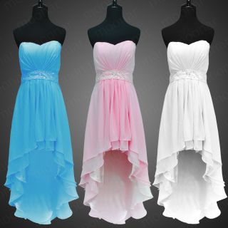 Homecoming Graduation Prom Party Ball Short Dress New Bridesmaid