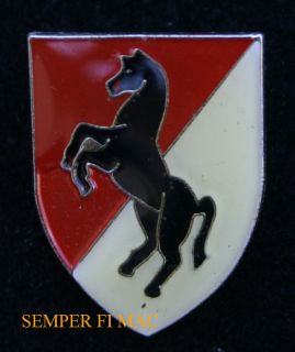Blackhorse Regiment US Army Fort Irwin CA Hat Lapel Pin USA