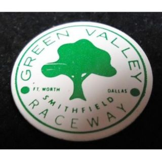 C1960s Vintage Green Valley Raceway Fort Worth TX Medal