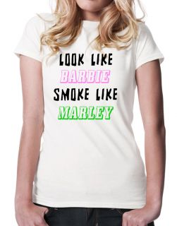 Like Barbie Smoke Like Marley T Shirt Bob Marley Weed T Shirt