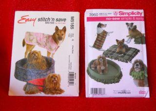 Cat Dog Pet Bed Easy Fleece Coat Mat Pad Collar Costume 2 Patterns