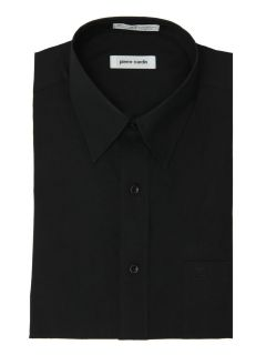 Pierre Cardin Black Regular Fit Open Pocket Dress Shirt