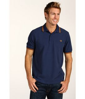 Fred Perry Polo Servicemen Blue w/Amber Trim XXL/XL Slim Fit 100%