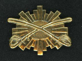 Civil War Sheridan Corps Cavalry Cap Insignia