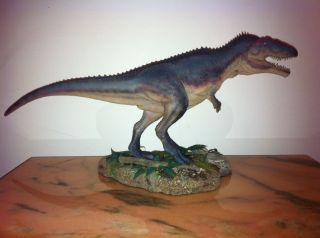 Dinosaur resin model by Foulkes painted by Martin Garratt