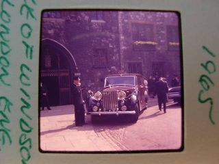 35mm Slides 1963 Queen Elizabeth King Greece Royalty