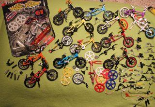 BMX Finger Bikes Tech Deck 78 Piece Lot$$$ Mongoose GT Bikes$$