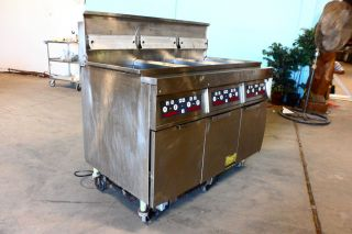 Heavy Duty Commercial Frymaster Natural Gas Fryer Digitally