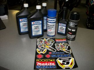 ATV Oil Care Kit 2 Cycle Oil Fuel Injector Cleaner More