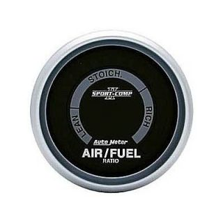 Sport Comp II Digital Gauge Air Fuel Ratio 2 1 16 Dia 3675