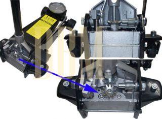 Ton Garage Car Truck Auto Shop Floor Jack Lift 5 1/4 to 19 1/2