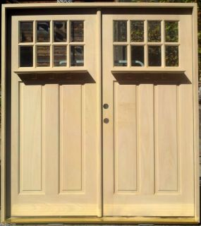 Double storm door installation on popscreen for Double storm doors for french doors