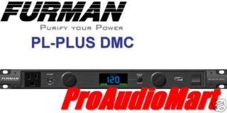 Furman PL Plus DMC Power Conditioner w Voltmeter New