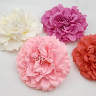 Pick Blooming Hair Flower Clip Brooch Wedding Party Prom Bridal Baby