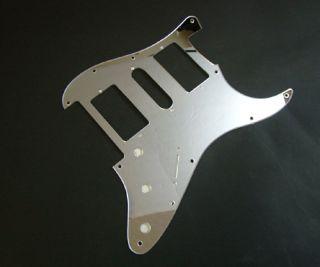 Floyd Rose Strat Pickguard HSH Chrome Mirror Fits Fender Charvel