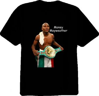 Floyd MAYWEATHER Jr Boxing Champion T Shirt