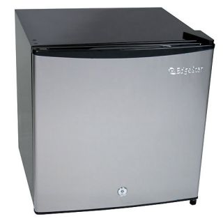 Compact Stainless Steel Fridge/Freezer with Full Range Thermostat