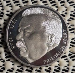 1975J Germany 5 Mark Silver Proof Commemorative Coin