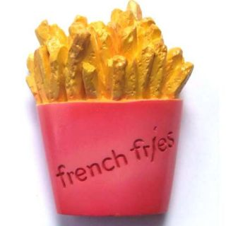French Fries Snacke Fast Food Food Collection Magnet