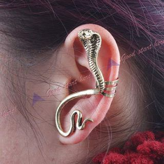 Hot Fashion Punk Vintage Gothic Personality Snake Ear Clip Earring